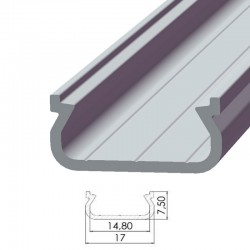 Perfil AlumínioTipo ECO P01 2,02M