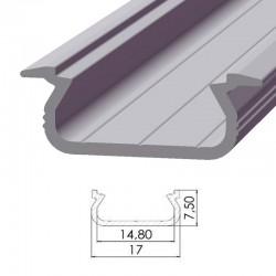 Perfil AlumínioTipo ECO P02 2,02M