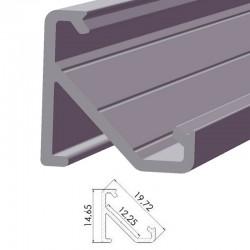 Perfil AlumínioTipo ECO P03 2,02M