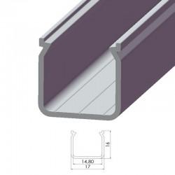 Perfil AlumínioTipo ECO P04 2,02M
